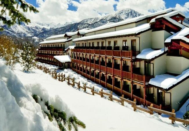 Hotel Sansicario Majestic Montagna Italia - Inverno