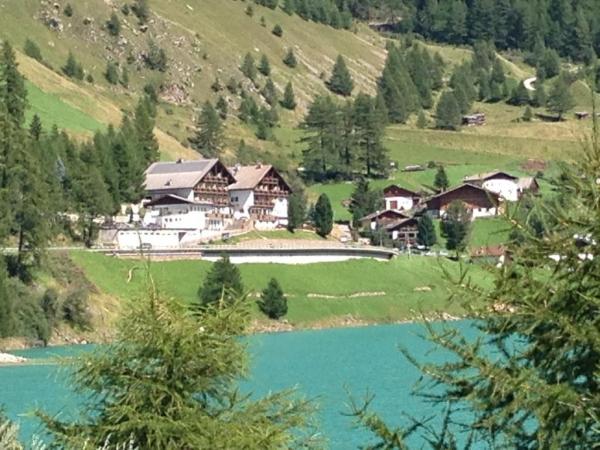 Mountain Lake Hotel Vernagt Montagna Italia Estate
