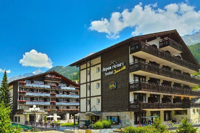 B. W. Plus Alpen Resort Hotel Montagna Svizzera Estate