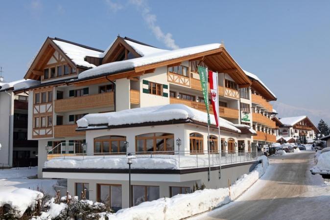 Hotel Kirchberger Hof Montagna Austria Estate