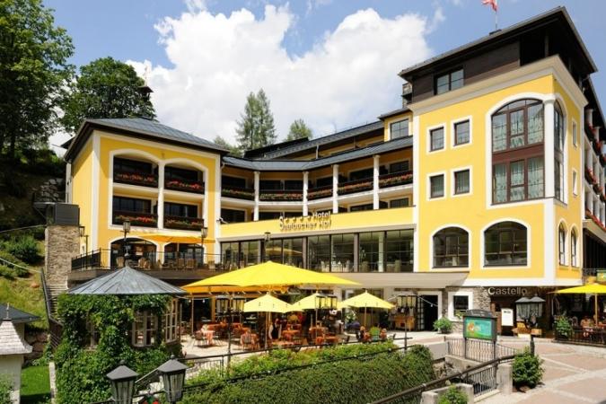 Hotel Saalbacher Hof Montagna Austria Estate