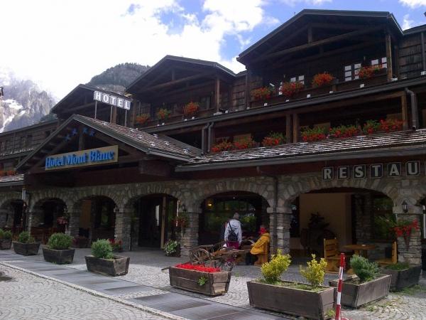 Hotel Mont Blanc Montagna Italia Estate