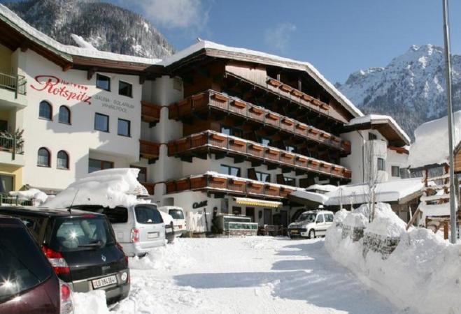 Hotel Pension Rotspitz Montagna Austria