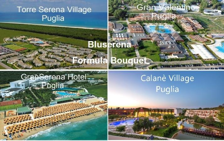 Bluserena Formula Bouquet Puglia Mare Italia