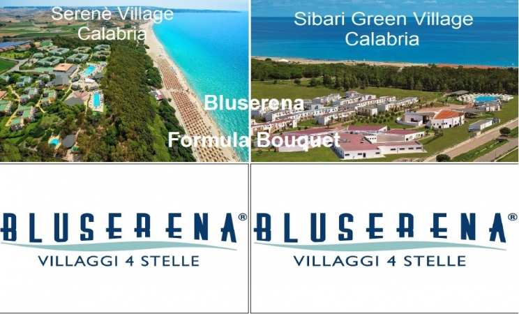 Bluserena Formula Bouquet Calabria Mare Italia