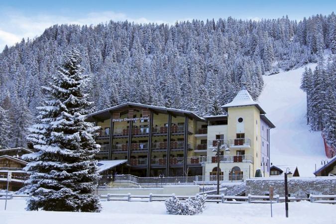 Design Oberosler Hotel Montagna Italia - Inverno