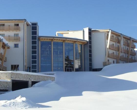Le Blanc Hotel e Spa Montagna Italia - Inverno