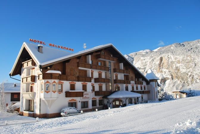 Hotel Belvedere & Paradise Montagna Italia - Inverno
