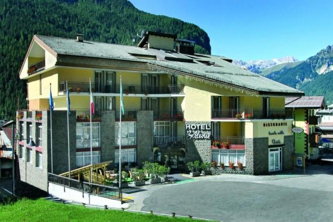 Hotel & Club Bellevue Montagna Italia - Inverno