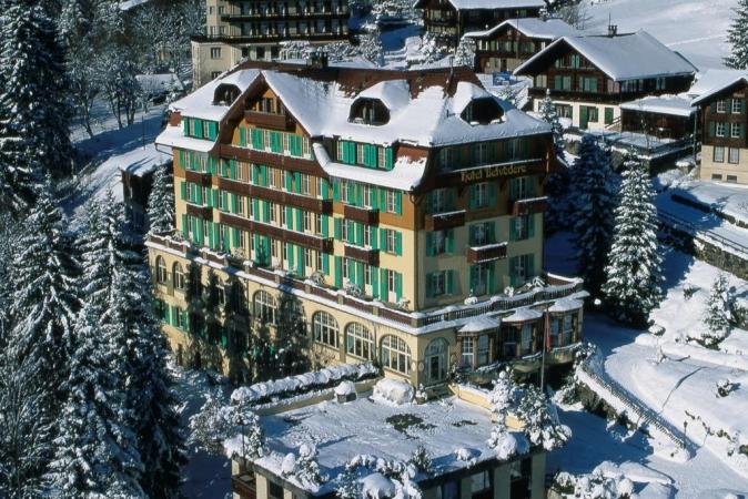 Hotel Belvedere Montagna Svizzera
