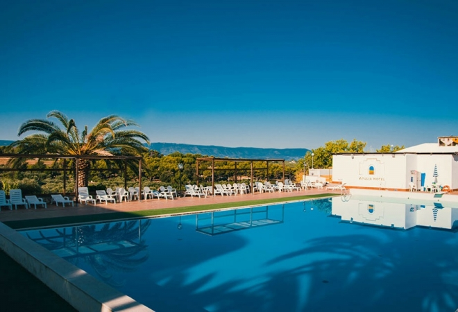 Apulia Hotel Rodi Garganico Mare Italia