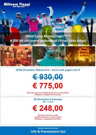 Hotel Luna Mondschein - Ortisei Montagna Italia