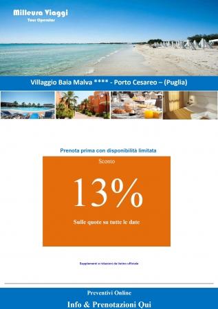 Salento - Baia Malva Resort Mare Italia