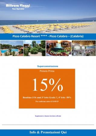 Villaggio Pizzo Calabro Resort Mare Italia