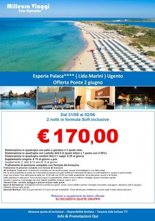 Esperia Palace - Lido Marini - Salento - Puglia Mare Italia