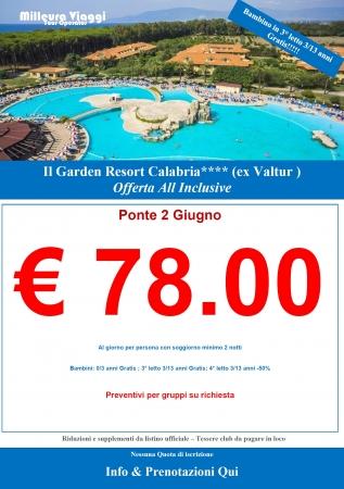 Garden Resort Calabria Mare Italia