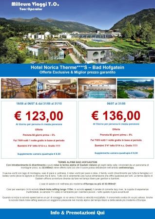 Hotel Norica Therme Montagna Austria Estate
