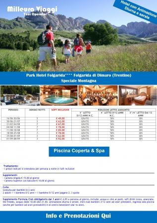 Park Hotel Folgarida Montagna Italia