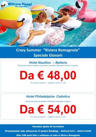 Crazy Summer - Speciale Riviera Romagnola Mare Italia