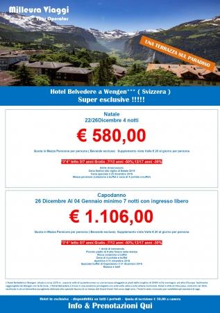 Hotel Belvedere - Svizzera Montagna Svizzera