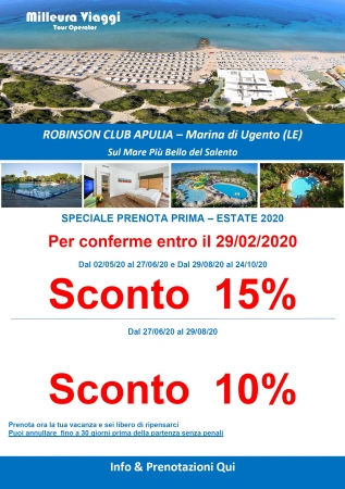 Robinson Club Apulia - Marina di Ugento Mare Italia