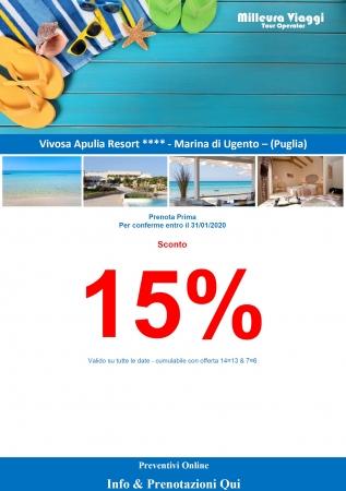 Vivosa Apulia Resort Mare Italia