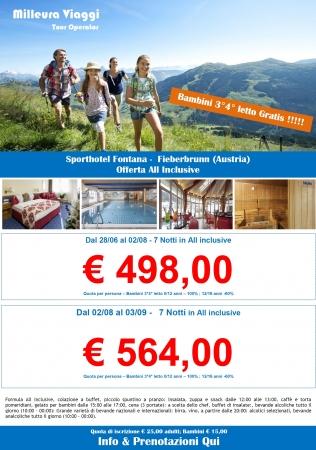 Sport Hotel Fontana Montagna Austria Estate