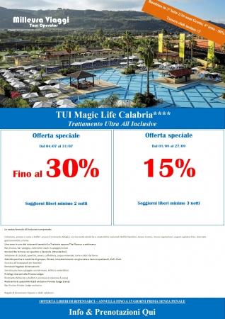 Offerta - TUI Magic Life Calabria Mare Italia