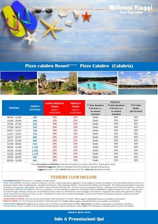 Pizzo Calabro Resort Mare Italia