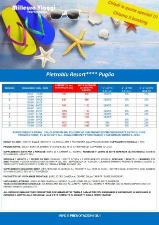 Pietrablu Resort - Polignano - Puglia Mare Italia