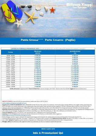Residence Punta Grossa - Porto Cesareo Mare Italia