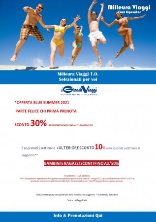 iGV Promo Summer 2021 Sconto fino al 30% Mare Italia