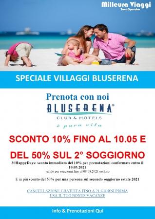 Villaggi Bluserena Mare Italia
