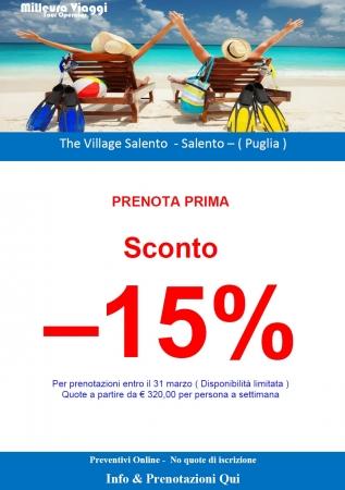 The Village Salento - Prenota prima -15%