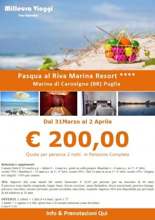 Riva Marina Resort -  Pasqua 2018 Mare Italia