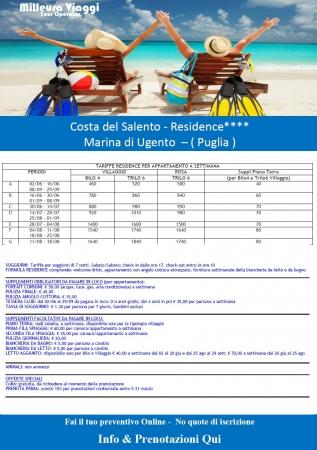 Offerta - Costa del Salento Village Mare Italia