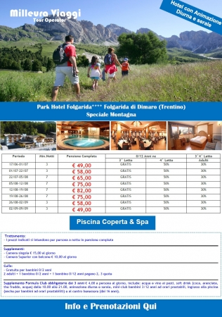 Montagna Italia Estate - Park Hotel Folgarida Montagna Italia
