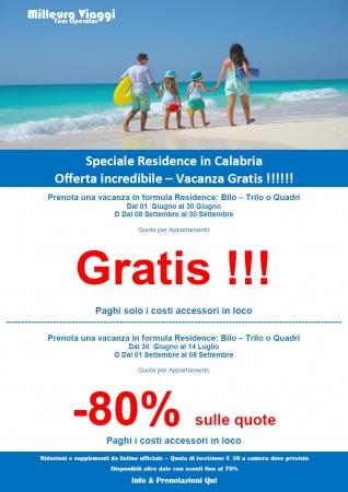 Speciale Residence Calabria Mare Italia