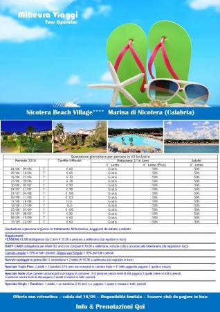 Villaggio Nicotera Beach Village Mare Italia