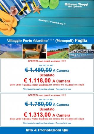Porto Giardino - Offerte di Luglio Mare Italia