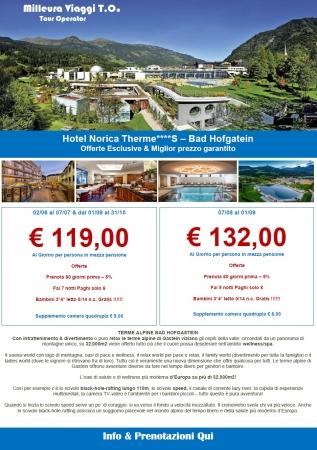 Offerta Esclusiva alle Terme e Montagna in Austria Montagna Austria Estate
