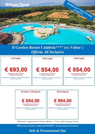 Offertissima Garden Resort Calabria Mare Italia