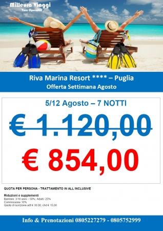 Settimana Speciale al Riva Marina
